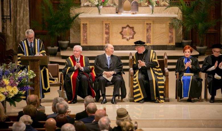 Pontifical Institute of Mediaeval Studies confers an Honorary Degree on His Highness the Aga Khan