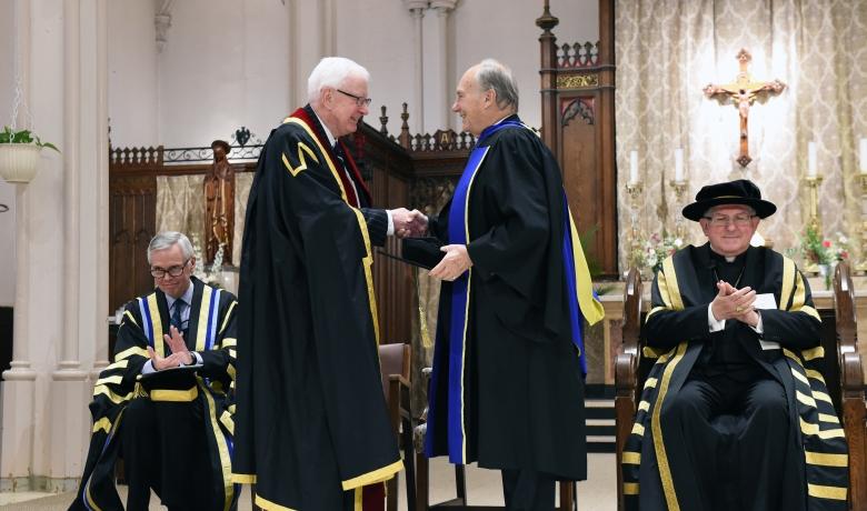 Aga Khan receives Honorary Degree from Toronto's Pontifical Institute of Mediaeval Studies