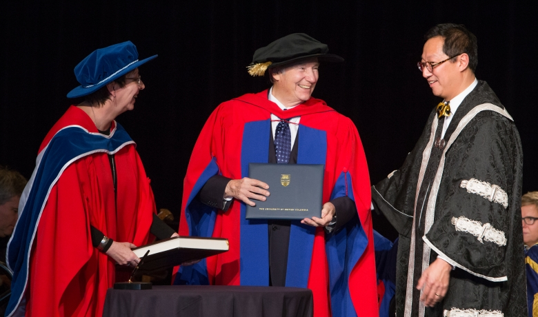 UBC / SFU Honorary Degree Conferral Aga Khan